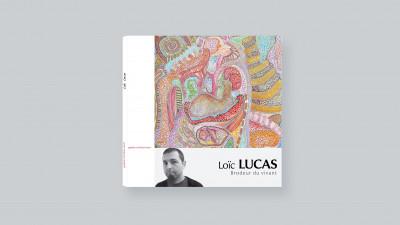 Loïc Lucas: embroider the living - © christian berst — art brut