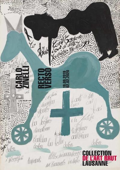 Carlo Zinelli, recto verso - © christian berst — art brut