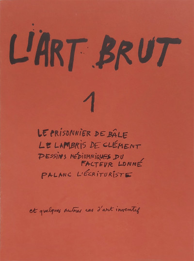 Fascicule de l'art brut n°1 - © christian berst — art brut