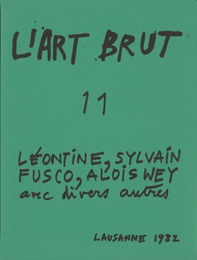 Fascicule de l'art brut n°11 - © christian berst — art brut