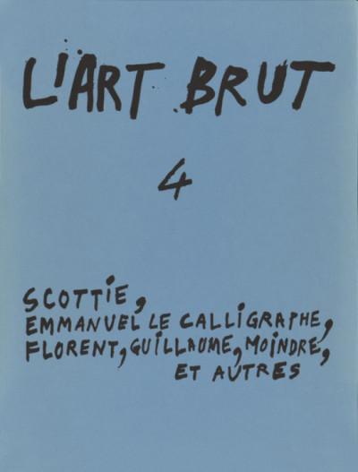 Fascicule de l'art brut n°4 - © christian berst — art brut